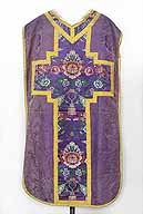 chasuble violette n°1