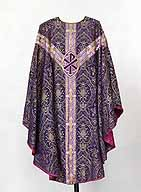 chasuble violette n°2